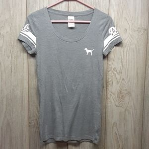 PINK Victoria's Secret Gray Tshirt
